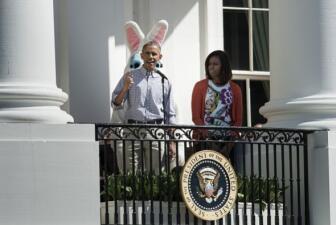 Los Obama celebran Pascua en la Casa Blanca