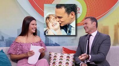 Alan Tacher despertó con una dulce sorpresa (y los gritos) de su hija Michelle para celebrar el Día del Padre