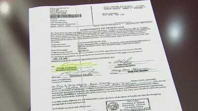 La dueña de una casa en Florida demanda a Bank of America por usar firmas falsas
