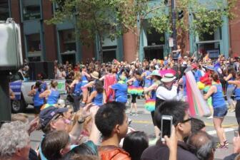 Desfile de Orgullo Gay en San Francisco!
