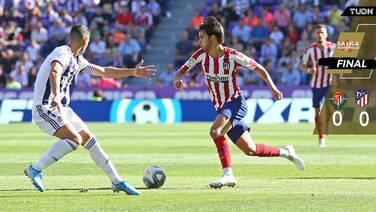 Atleti deja ir puntos ante el Valladolid con Héctor Herrera