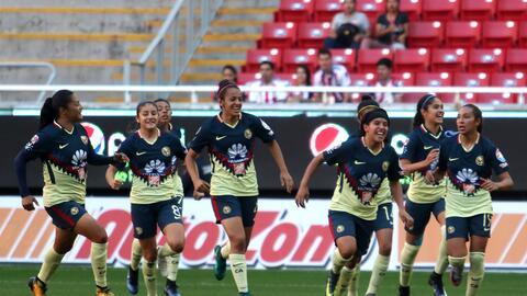 América femenil tiene confianza plena en remontar a Chivas