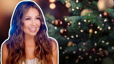"""Por """"acelerada"""": Thalía ya puso su árbol de Navidad y así lo compartió con sus seguidores en Instagram"""