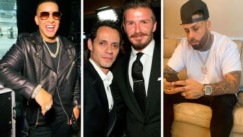 Marc Anthony, David Beckham, Daddy Yankee y Nicky Jam: celebridades que son muy buenos amigos y tal vez no sabías