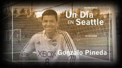 Un día en Seattle con Gonzálo Pineda