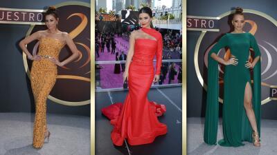 Difícil de superarse: estas famosas usaron los vestidos más memorables en 2017