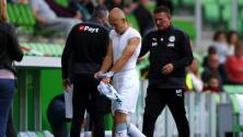 Se lesiona Arjen Robben en su regreso a la Eredivisie