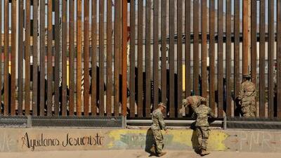 En un minuto: Trump viaja a la frontera tras dar marcha atrás en su amenaza de cerrarla