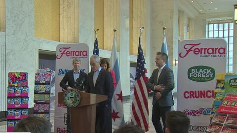 Compañía de dulces Ferrara anuncia su llegada a Chicago con la promesa de generar cientos de empleos