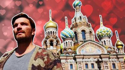 Julián Gil viajó hasta Rusia en busca del amor, ¿funcionaron sus técnicas de conquista?