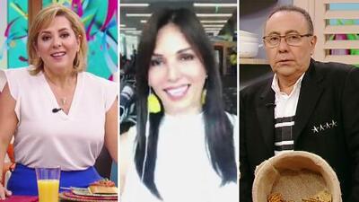 Giselle Blondet no pudo llegar, pero tenía mucho qué decir de Ana María Canseco y Fernando Arau