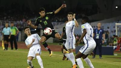 México vende cara la derrota ante Inglaterra en el Mundial Sub 17