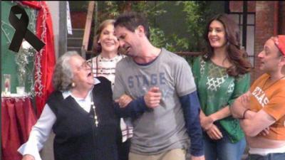 El emotivo adiós de los Vecinos a Yolanda Martínez