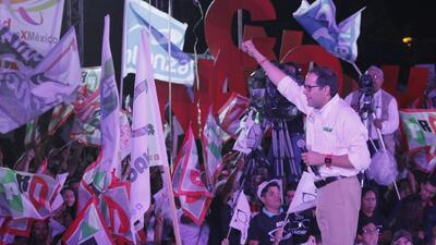 Candidato del partido oficialista aventaja contienda en Colima