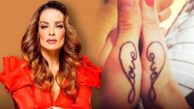 """Alma Cero cuenta lo que le tomará quitarse el tatuaje de Edwin Luna: """"Por andarse poniendo tonterías"""""""