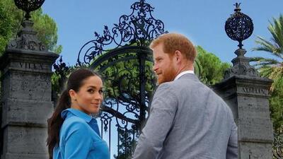En video: la llegada de el príncipe Harry y Meghan Markle (con un vestido de $13,000) a una boda llena de famosos