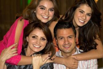 Peña Nieto orgulloso de su numerosa familia