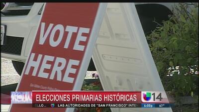Elecciones primarias históricas en California