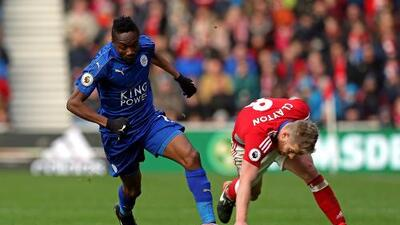 Middlesbrough y Leicester firman un empate que no ayuda a ninguno