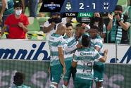 Santos le remonta a Rayados en un partidazo en Torreón