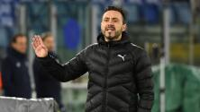 El técnico del Sassuolo no quiere jugar ante el Milan por Superliga