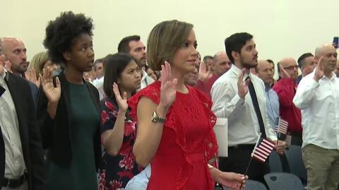 Satcha Pretto ya es ciudadana de Estados Unidos: así fue su ceremonia de juramentación