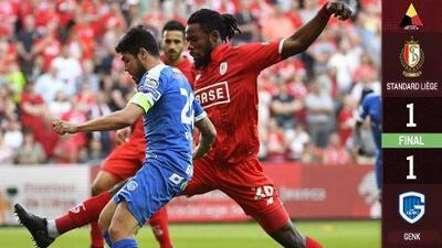 Guillermo Ochoa y Standard Lieja rescatan empate ante KRC Genk