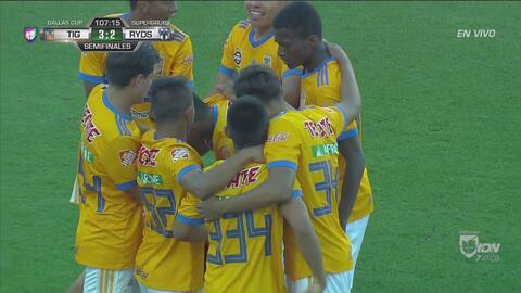 Tigres consigue el 3-2 en tiempo extra, vence a Rayados y pasa a la Final de la Dallas Cup