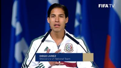 Diego Lainez 'le dio' el Mundial a México y presumió al América ante FIFA