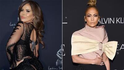 Gloria Trevi se llevó las palmas con este look pero esta vez Jennifer Lopez no convenció
