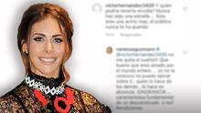 """Así se defendió Vanessa Guzmán de quien le dijo que """"nunca ha sido una estrella"""" para que alguien """"pueda envidiarla"""""""