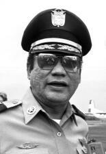 Manuel Antonio Noriega, el dictador panameño derrocado por Estados Unidos (Fotos)