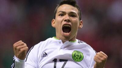 Mexicanos se colaron en la celebración brasileña con un cántico al 'Chucky' Lozano
