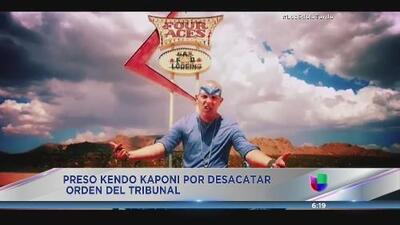 Kendo Kaponi se la juega con la justicia