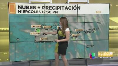 Puerto Rico tendrá un miércoles casi despejado