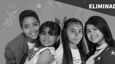 Los Conquistadores: Nayleah Ramón, Anyelique Solorio, Gabrielly Palacio y Kemish Aquino