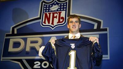 Cuando Eli Manning se negó a jugar para los Chargers en el Draft 2004