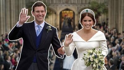 En fotos: el vestido de novia de Eugenie de York (y la tiara) de su boda real