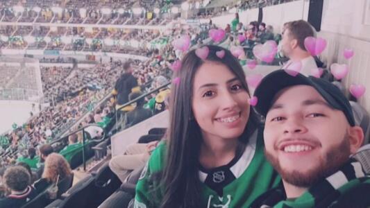 Así fue como este hispano se convirtió en fanático de los Dallas Stars