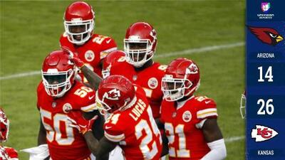 Pat Mahomes lanza dos pases de touchdown y Kansas City supera a Arizona