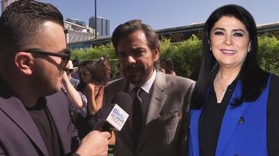 Eugenio Derbez aconseja a Victoria Ruffo para que triunfe en su incursión en la comedia