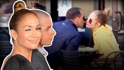 Lo que  Jennifer López hace con A-Rod ya lo vivió con 'Casper' y estas fotos lo evidencian
