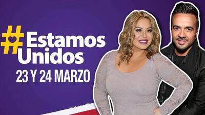 """""""Estamos Unidos"""": Chiquis Rivera, Luis Fonsi y CNCO serán parte del Teletón USA 2018"""