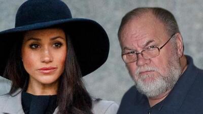 Tras su escandalosa venta de fotos, el papá de Meghan Markle no va para la boda real