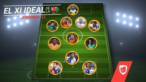 Tras golear a Tigres, América es la base del equipo ideal de la Jornada 12