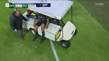 ¡Un partido para olvidar! Jair Pereira se lesiona y salió en camilla