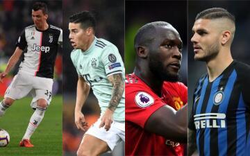 Rumores de Europa: Icardi, Lukaku, James y Manzdukic en la mira de nuevos clubes para 2019-20