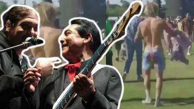 Los Ángeles Azules todavía no se creen que hayan puesto a bailar a Justin Bieber en Coachella 2018
