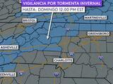 Pronostican nieve ligera y aguanieve este fin de semana al norte del Triángulo