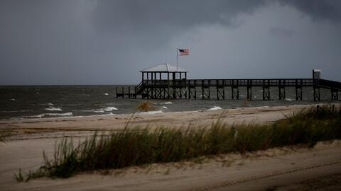 Así se preparan en Mississippi para la llegada del huracán Gordon